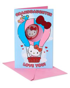 Hello Kitty Valentine's Day Card for Granddaughter