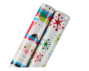 Christmas Wrapping Paper, 2-Roll Pack