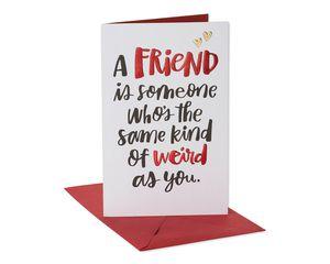 Funny Weird Card for Friend