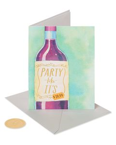 Party Like 1999 Birthday Greeting Card