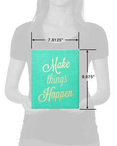 Eccolo Make Things Happen Desk-Size Journal