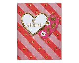 chocolates valentine's day card