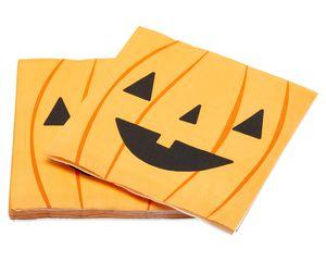 Pumpkin Paper Lunch Napkins, 16-Count