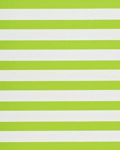 Reversible Wrapping Paper, Lime Green and Stripes