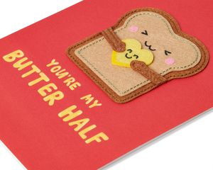Butter Half Valentine's Day Greeting Card