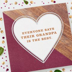 Best Grandpa Father's Day Card for Grandpa