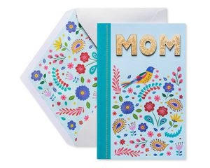 Colorful Bird Mother's Day Card