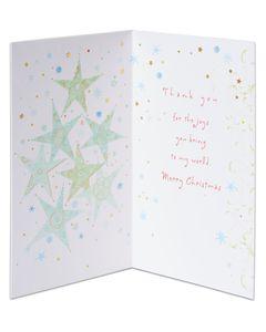 Joys Christmas Card for Friend