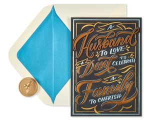Incredible Journey Father's Day Greeting Card for Husband