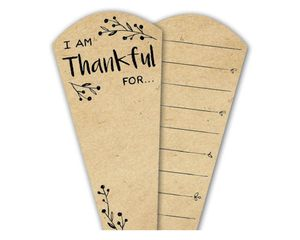 Kraft Brown Replacement Thankful Feathers®