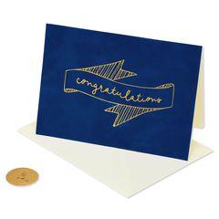 Congratulations Blank Greeting Card