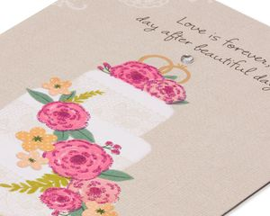 Love is Forever Wedding Card