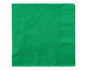 festive green beverage napkins 50 ct