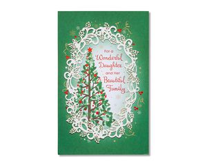 Christmas Card for Daughter and Family