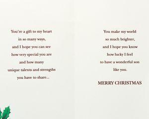Gift Christmas Card for Son