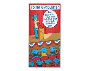 Blah Blah Blah Graduation Card
