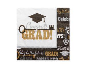 Graduation Lunch Napkins, 16-Count