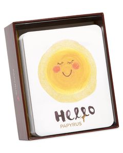 Hello Sunshine Boxed Cards and Envelopes, 20-Count