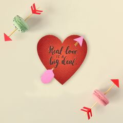 Romantic Real Love Valentine's Day Card
