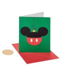 Mickey Mouse Holiday Boxed Cards, 20-Count