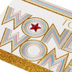 Wonder Woman Birthday, Thank You, Friendship Greeting Card