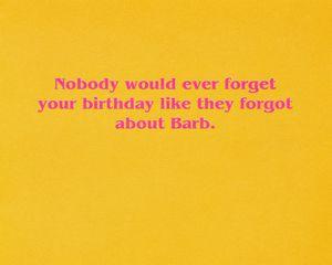Stranger Things™ Barb Birthday Card