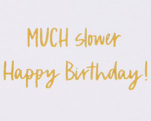 Sloth Funny Birthday Greeting Card