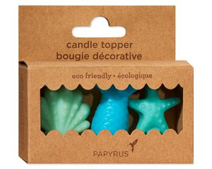Mermaid Birthday Candles, 3-Count