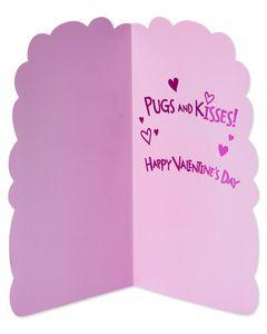 Pugs Valentine's Day Card