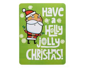 Holly Jolly Money and Gift Card Holder Christmas Card