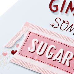 Sugar Valentine's Day Greeting Card