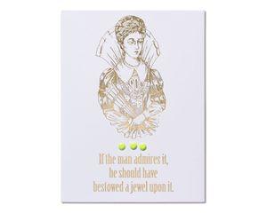 Jewel Engagement Card