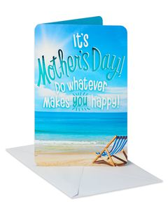 Beach Mother's Day Card