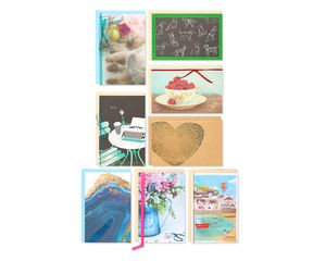 Blank Greeting Card Collection, 8-Count