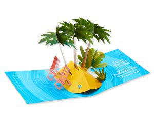 Funny Caribbean Vacation Mother's Day Card