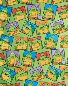 Teenage Mutant Ninja Turtles Wrapping Paper, 15 sq. ft.