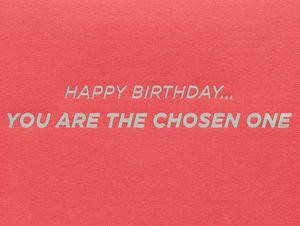 Darth Vader Star Wars Birthday Greeting Card