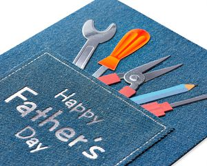 Jean Pocket and Tools Father's Day Greeting Card