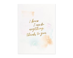 showed me i can mother's day card