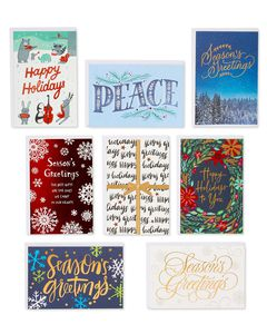 Holiday Deluxe Greeting Card Bundle, 32-Count