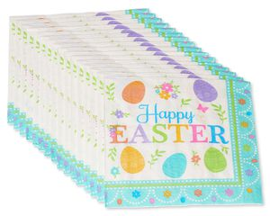 Lovely Easter Lunch Napkins, 16-Count