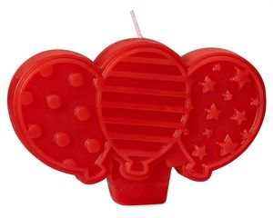 Balloons Birthday Candle, 1-Count