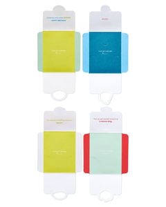 Stick-Onvelope Gift Card Holders, 4-Count