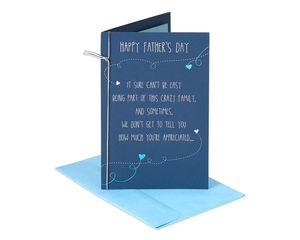 Crazy Family Father's Day Card