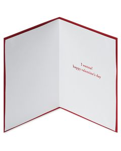 Spooning Valentine's Day Greeting Card
