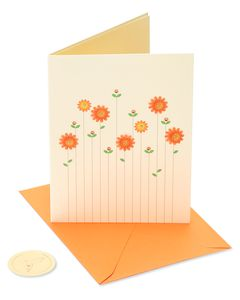Flowers Thinking of You Greeting Card