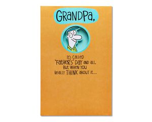 Promoted Father's Day Card for Grandpa