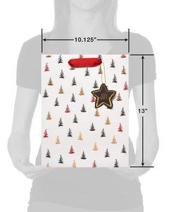 Christmas Joy Gift Bag Set, 3-Count