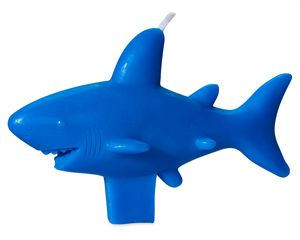 Shark Birthday Candle, 1-Count