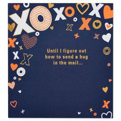 XOXO Pop-Up Birthday Card